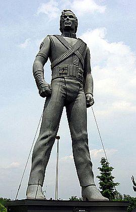 HIStory Promo Statue