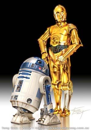 C-3PO & R2-D2